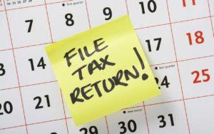 Tax Deadline For 2019